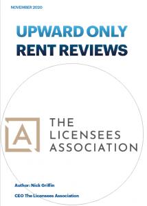 Upward Only Rent Reviews Licensees Association