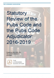 Statutory Review of PCA 2016 to 2019
